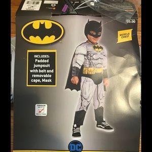 🎃 Batman Costume Toddler 2-3 Years 👻